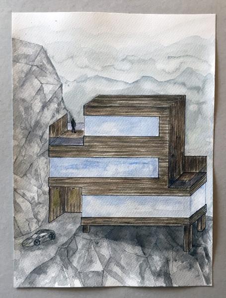 Huset vid klippornas ände