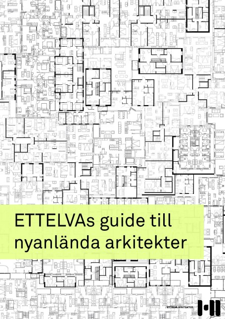 Pages from ETTELVAS guide för nyanlända arkitekter