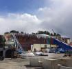 Bilder från bygget: Strängnäs resecentrum